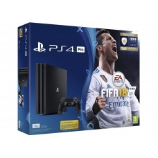 PlayStation 4 Pro Bundle (1 Tb, FIFA 18, черный), , Консоли